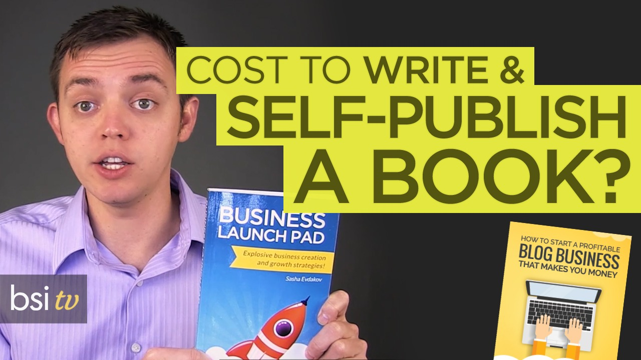 What Does it Cost to Write & Self-Publish a Book?
