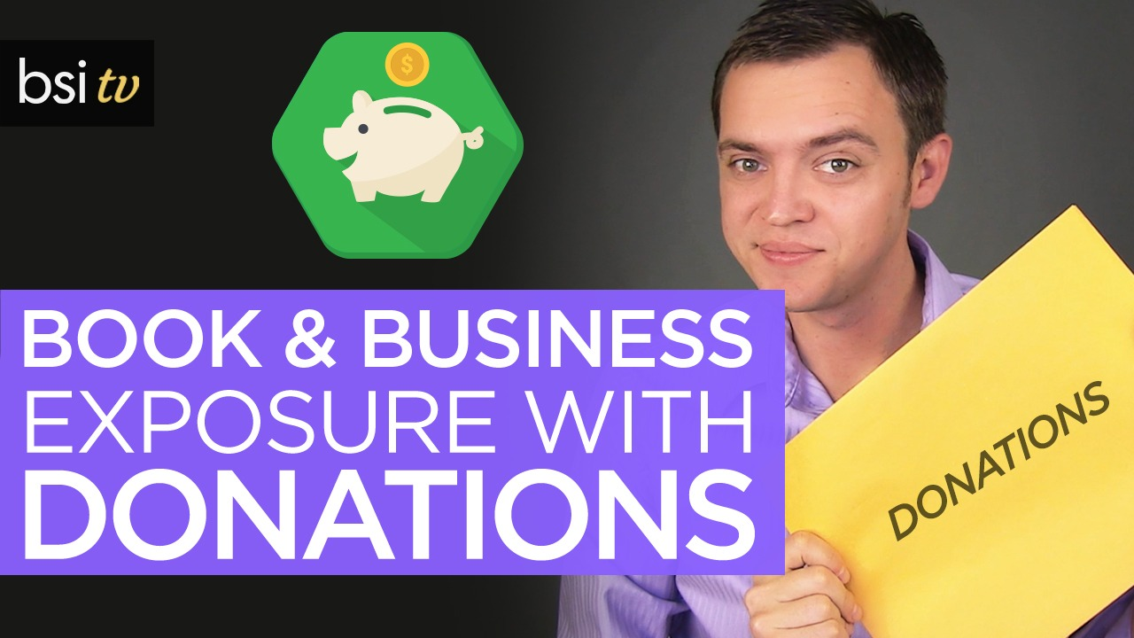 Donate Your Book and Get Huge Exposure for Your Business [Marketing Tips & Tricks]