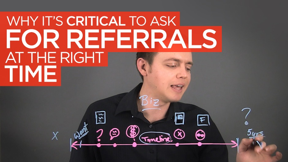 Why It's Critical to Ask for the Referral at the Right Time!