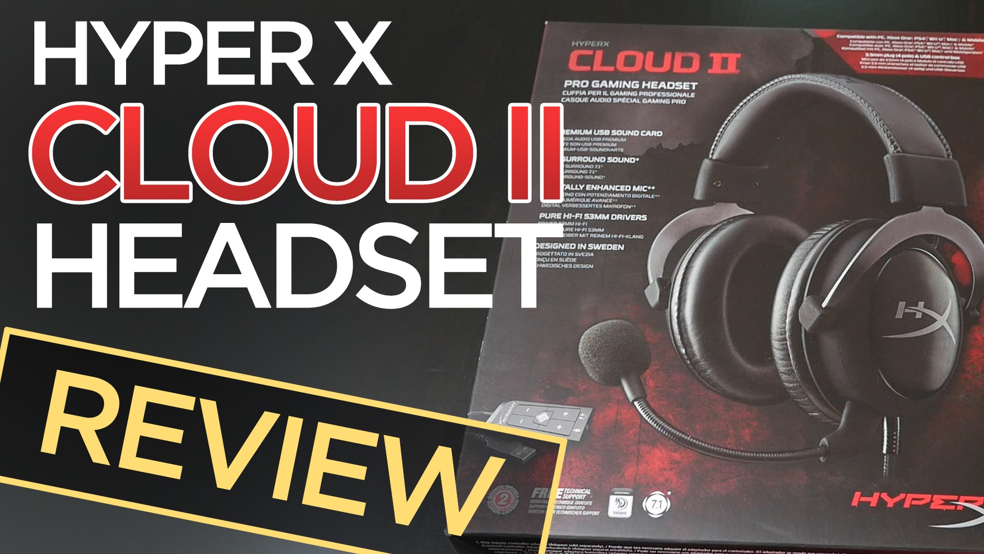 HyperX Cloud II Gaming Headset Review + Typing Test