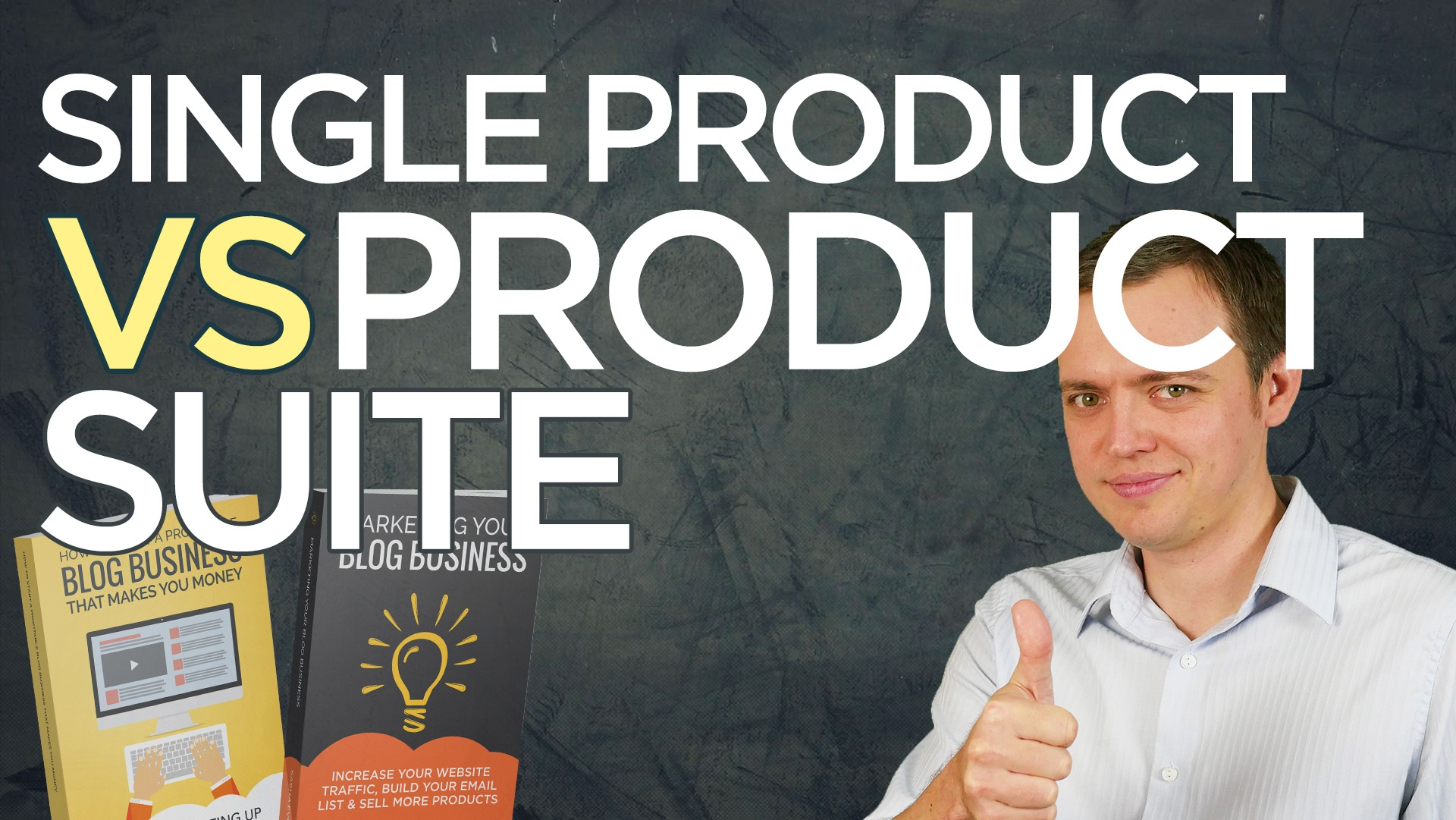 Single Product Idea vs Running a Business (Product Suite)