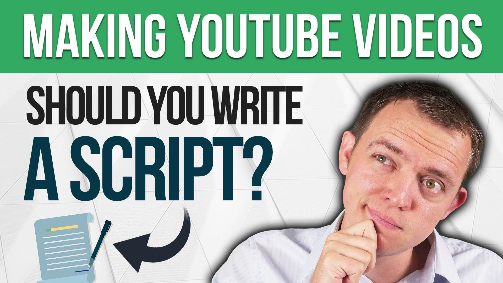 Should You Write a Script for Your YouTube Videos