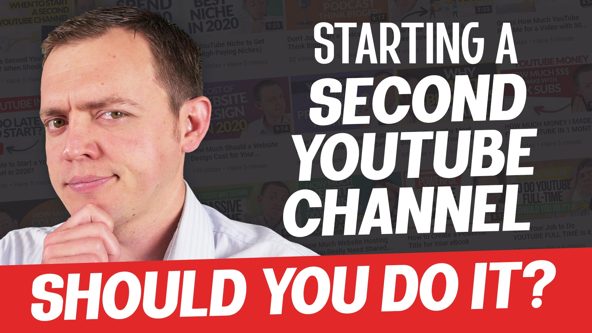 Starting a 2nd or 3rd YouTube Channel… Should You Do it?