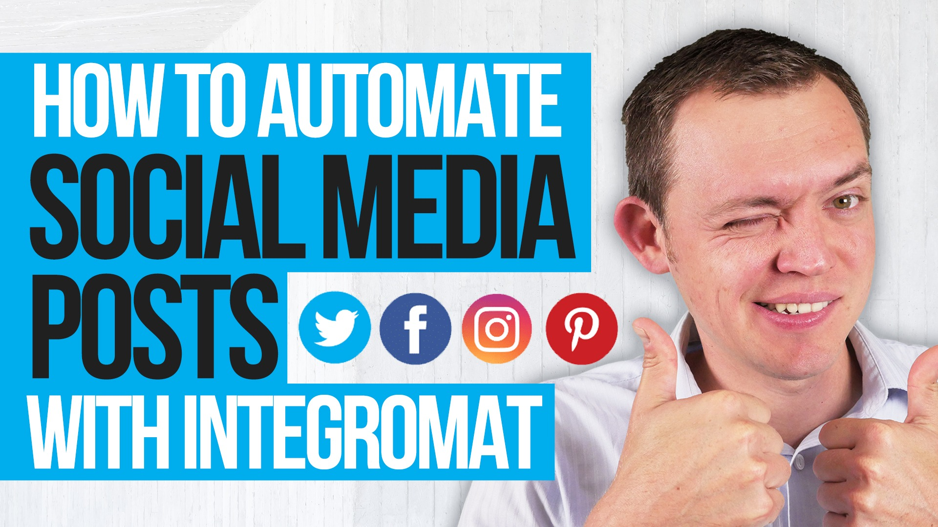How to Automate and Loop Your Social Media Posts! (Integromat Power)