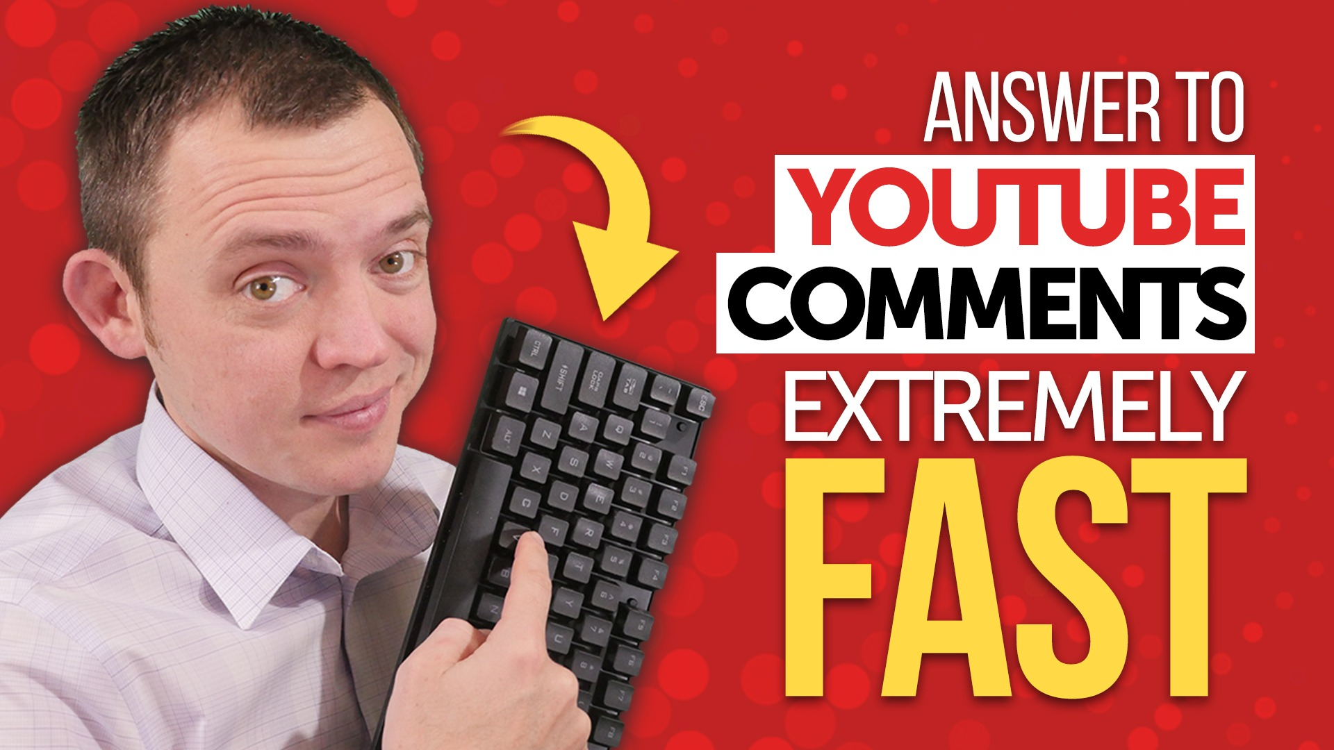 How to Answer YouTube Comments Extremely FAST! (Like a Pro)