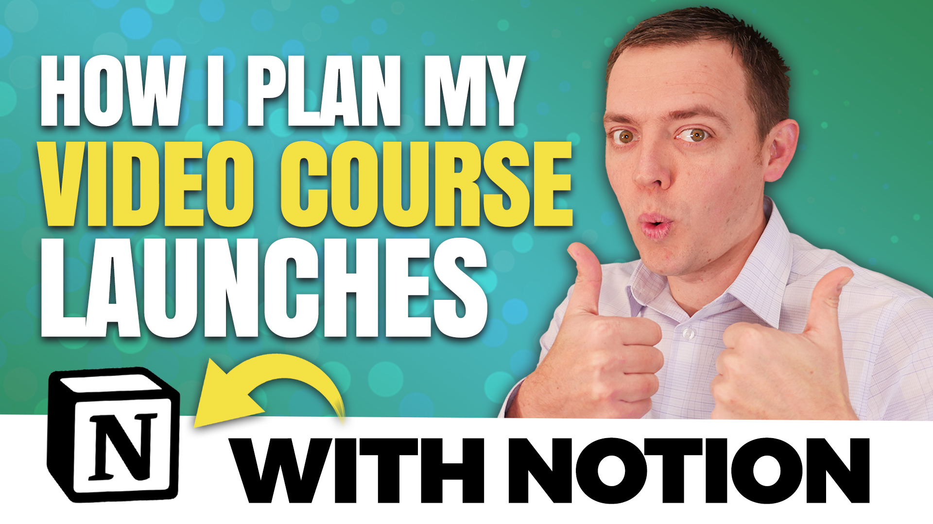 How I Plan My Video Course Launches with Notion!