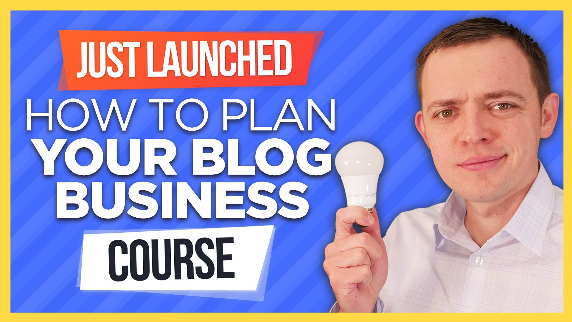 Just Launched 🎉 Planning a Blog Business Course!